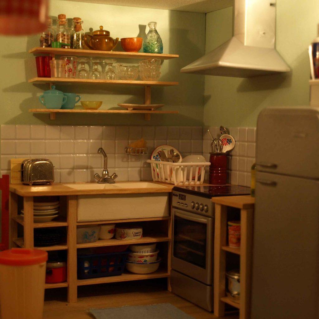 Miniature Dolls House by Annina Diston