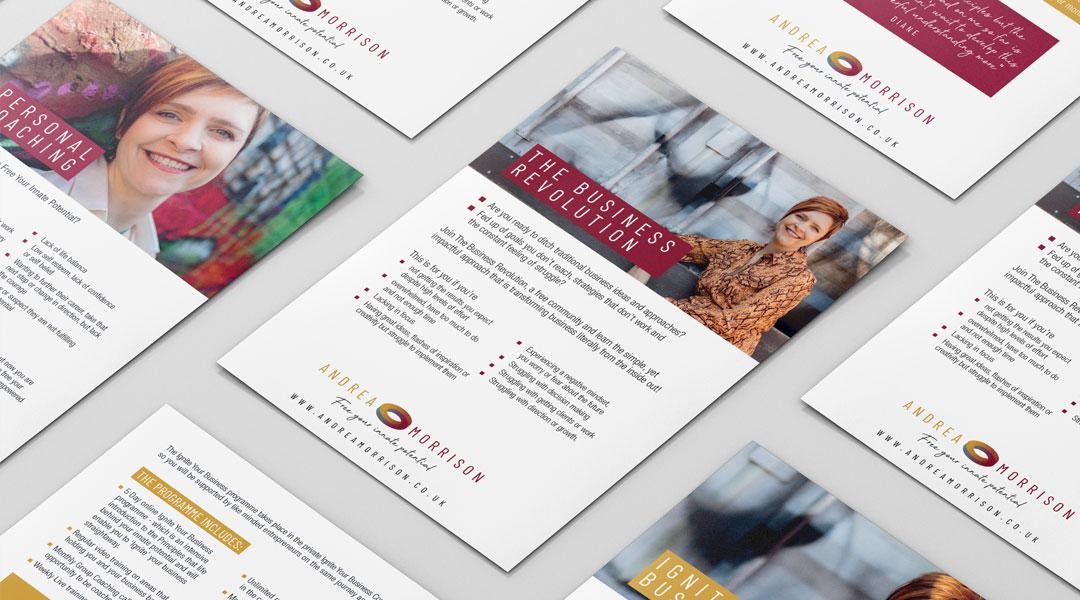 Andrea Morrison Leaflets