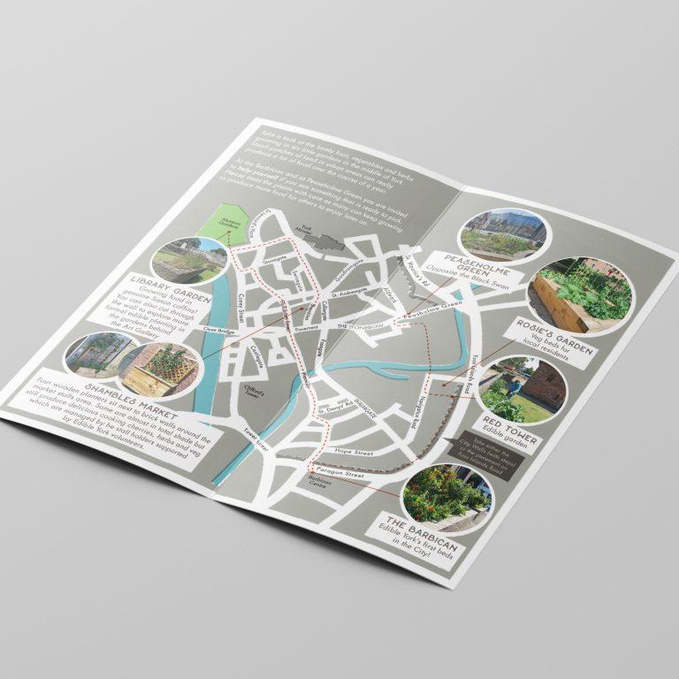 Edible York Leaflet