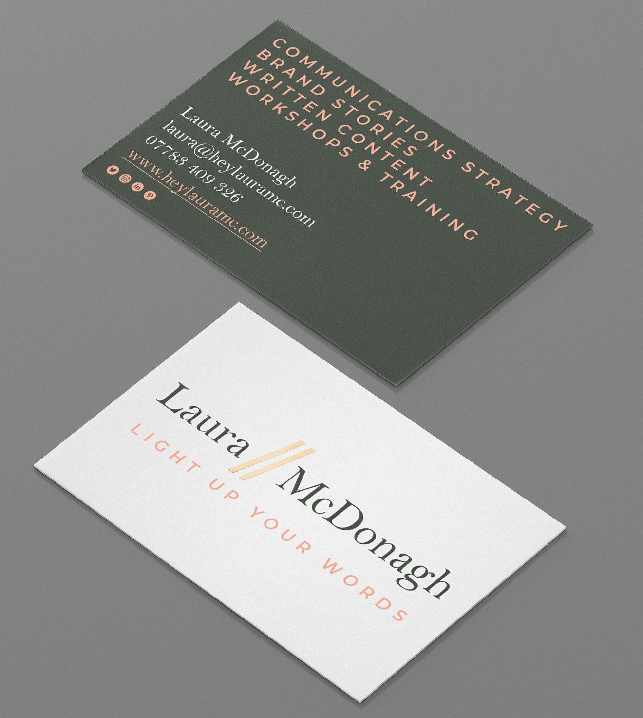 Laura McDonagh Business Card