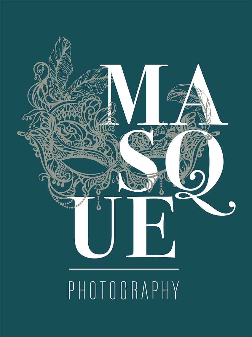 Masque Photography Branding Logo
