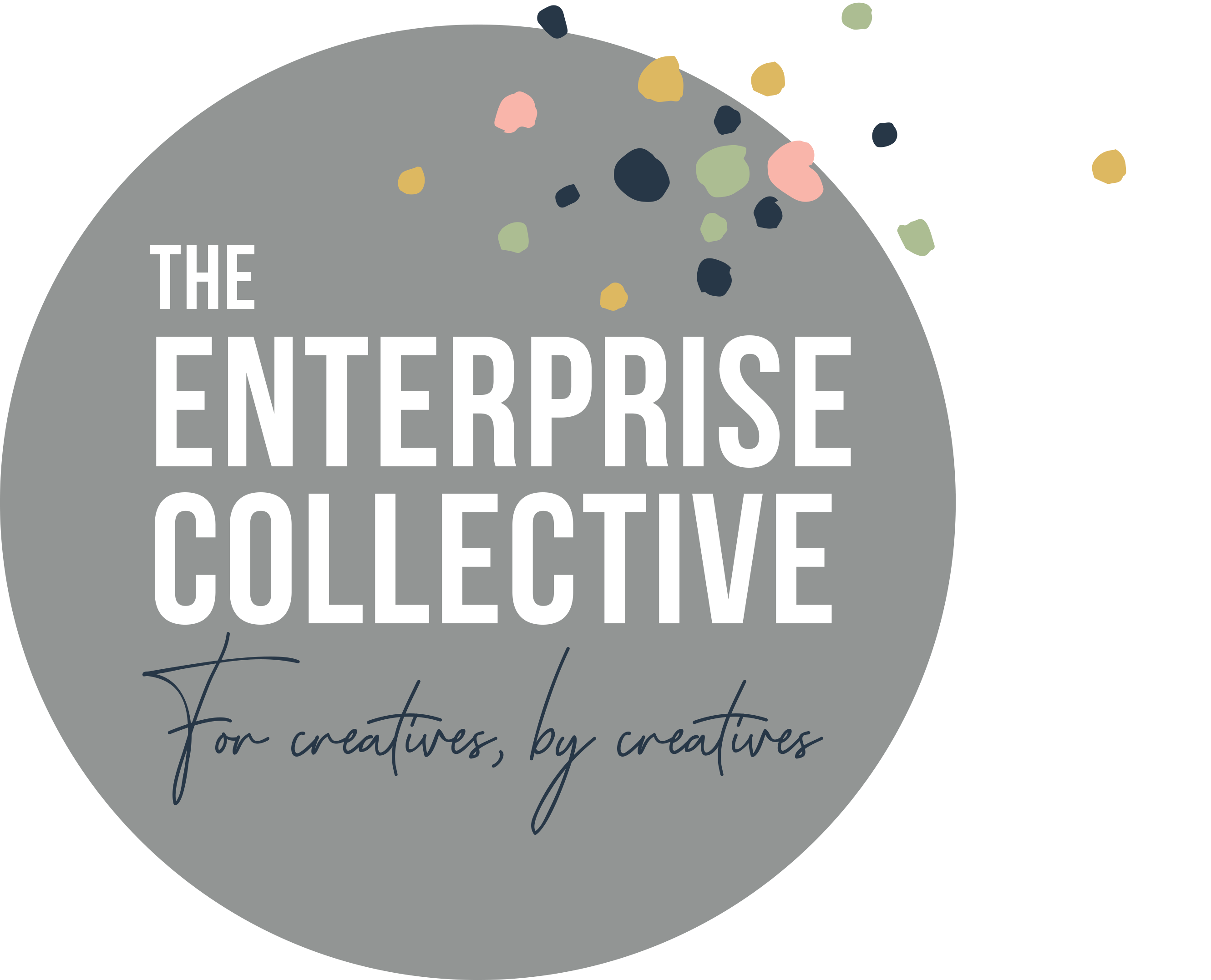 Enterprise Collective Logo Grey
