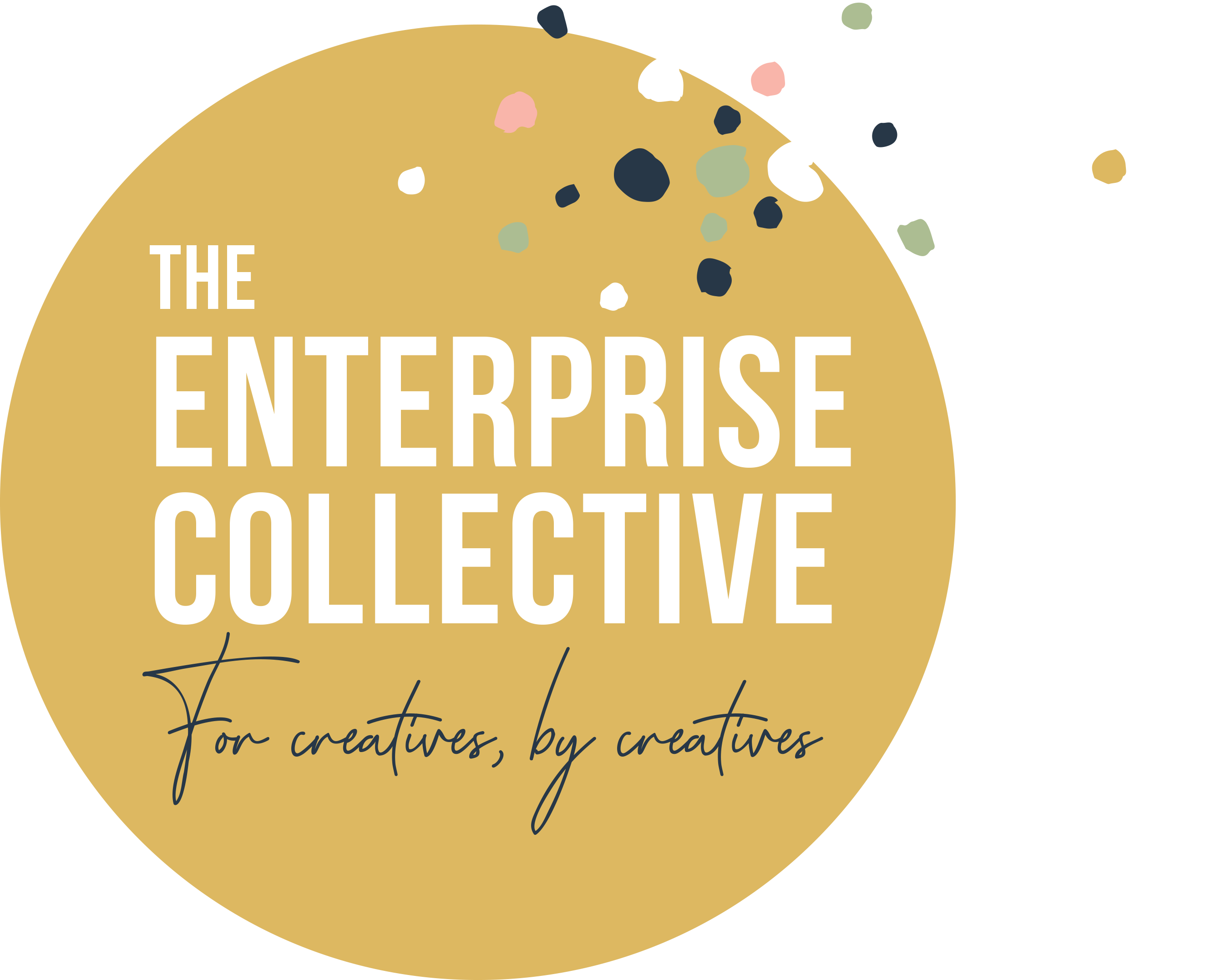 Enterprise Collective Logo Yellow Gold