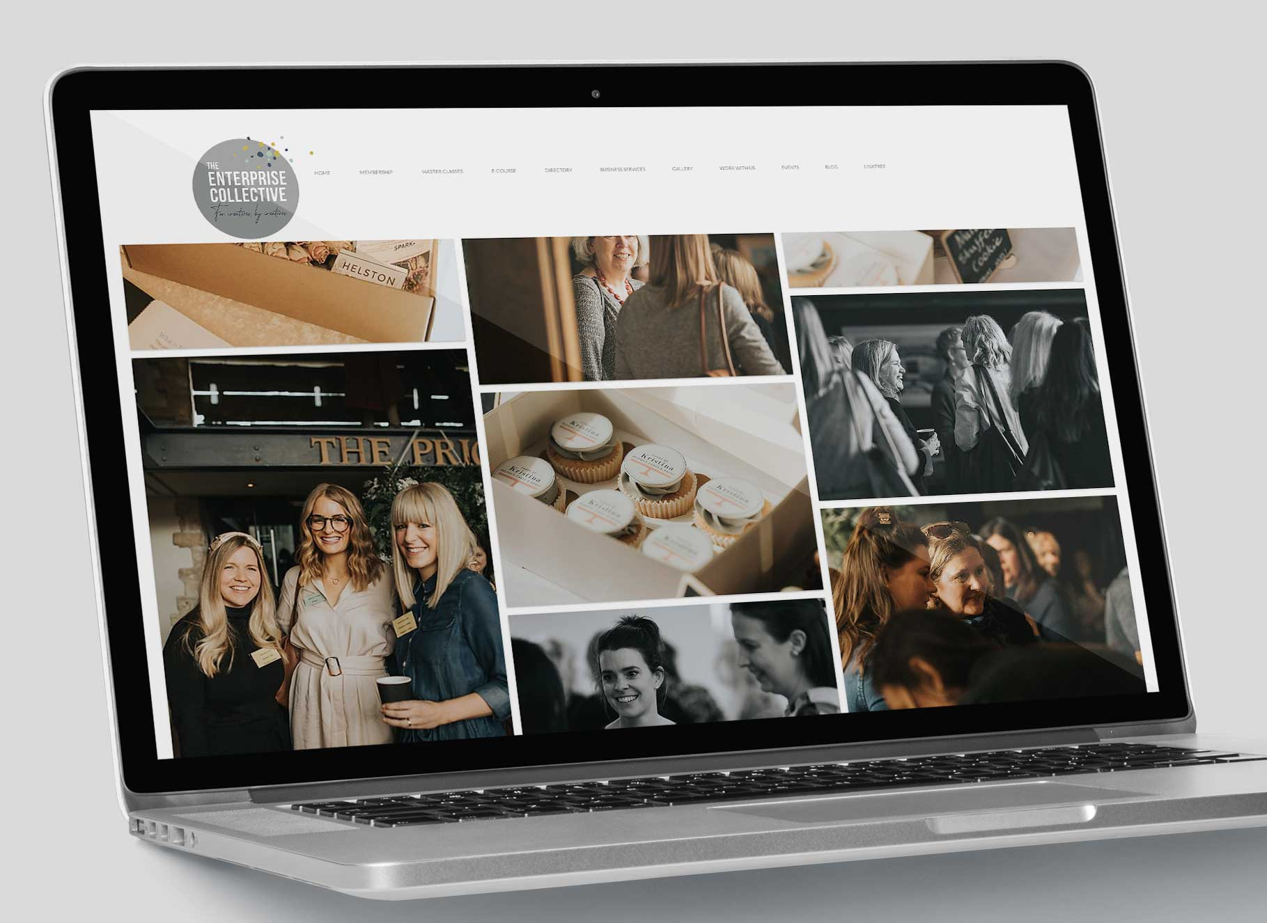 Enterprise Collective Branding Website Gallery