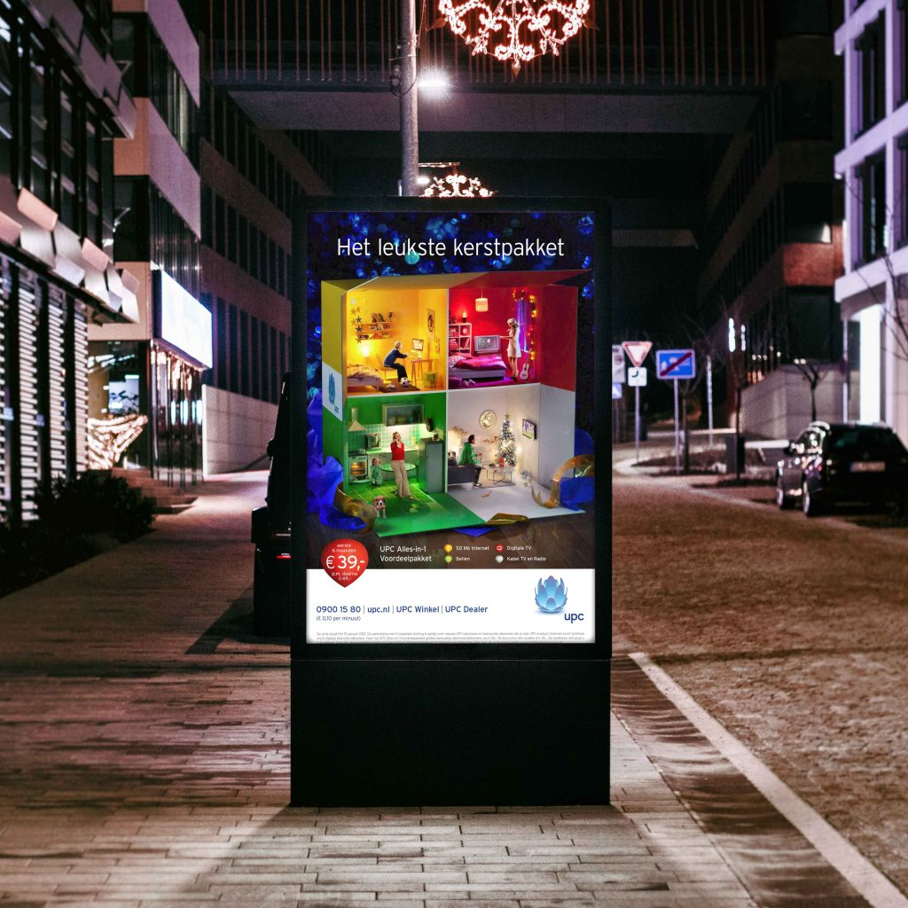 UPC Netherlands Christmas Campaign Poster