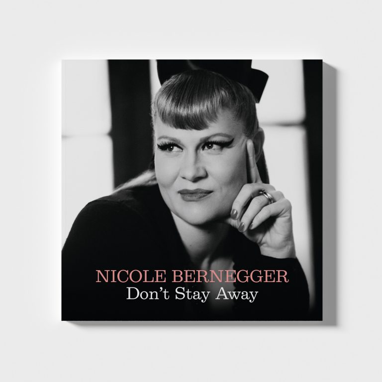 Nicole Bernegger Don't Stay Away Single Cover Art