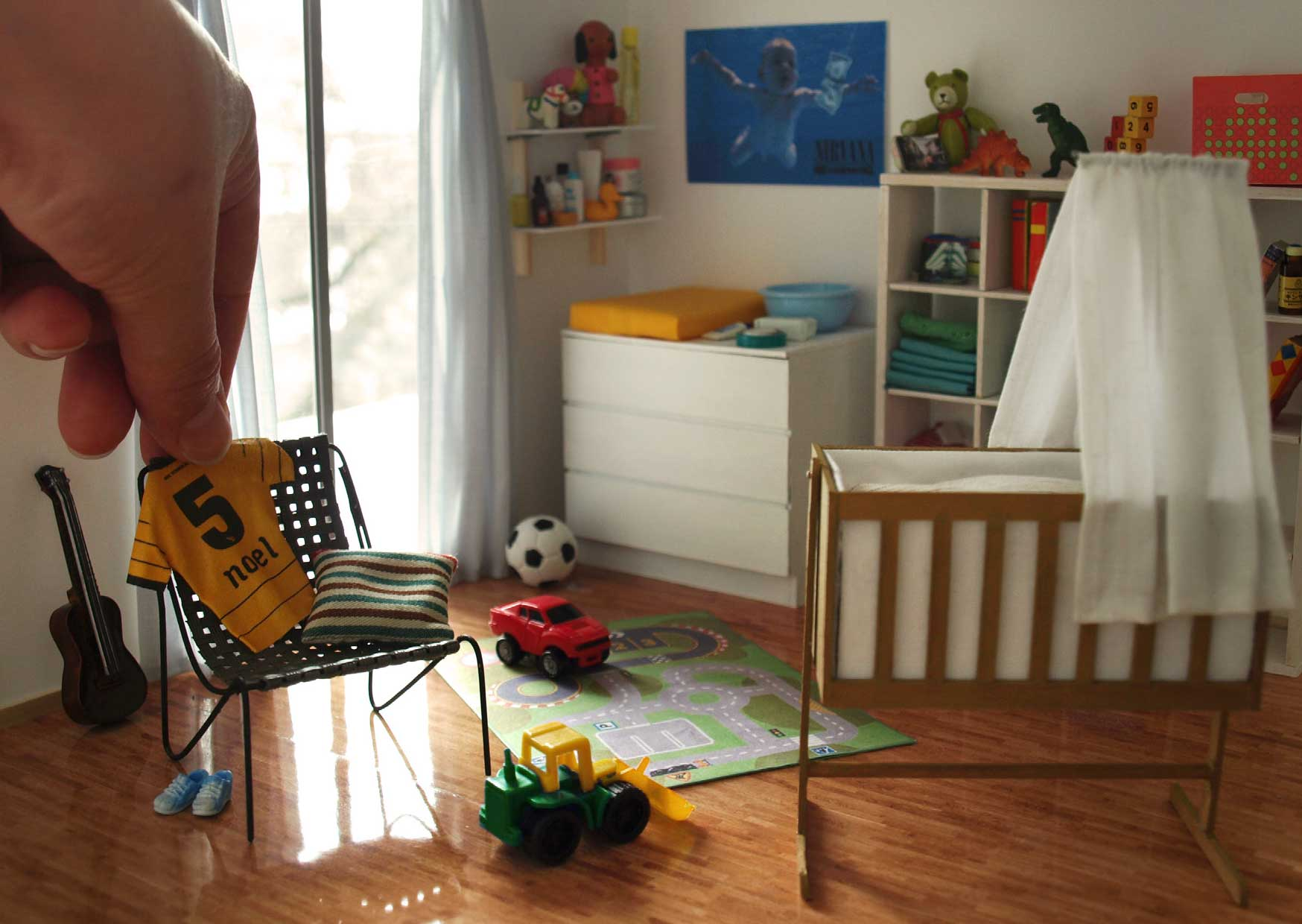 Miniature Scene by Annina Diston